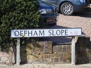 Offham Slope