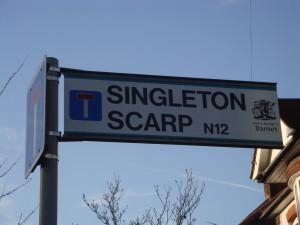 Singleton Scarp